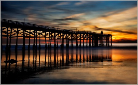 Crystal Pier at Sunset | © Rex Boggs/Flickr