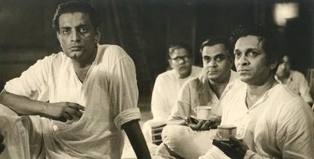 Satyajit Ray with Ravi Shankar |  © Unknown/WikiCommons