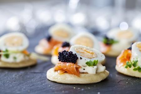 Bite-sized canapés   © Magdanatka/Shutterstock