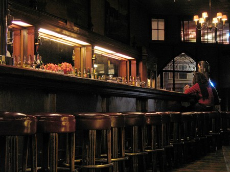 the beer list here was not exciting, but the scene is as classic as the jukebox| © Beer By BART/flickr