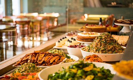 Brunch buffet at God Save the Cream | Courtesy of God Save the Cream