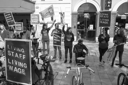 Striking Workers in Brixton   © M.o.B 68 / Flickr