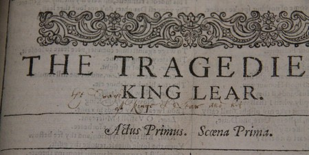 Inscription from Folger Shakespeare Library 22273 Fo.1 no. 38 | © Pop / Flickr
