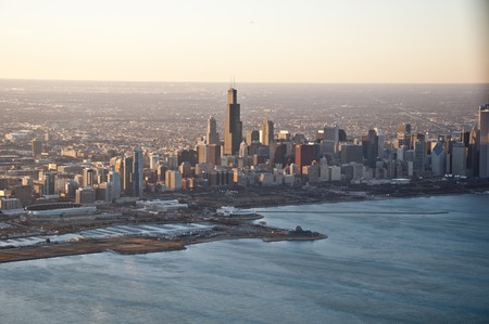 Aerial View of Chicago   © Vxla/Flickr