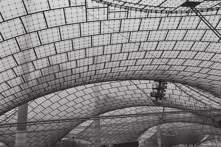 Olympiastadion München/Munich, Dach, Frei Otto | © krss./Flickr