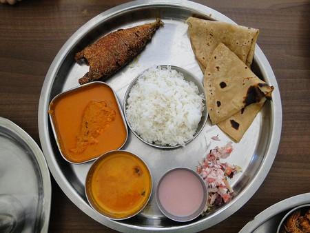 Malwani seafood thali | ©Ankur P/WikiCommons