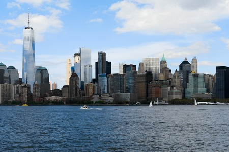 A view of Lower Manhattan from the Hudson River | © Smart Scott Photography