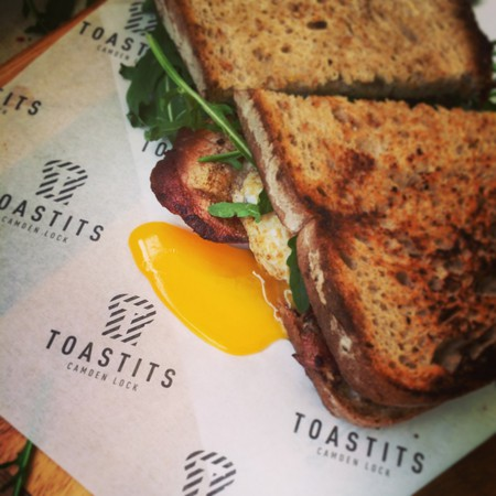 Egg and Bacon | Courtesy of Toastits