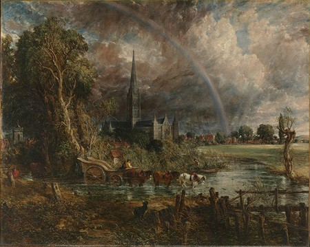 Salisbury Cathedral from the Meadows | © Wmpearl/Wiki Commons