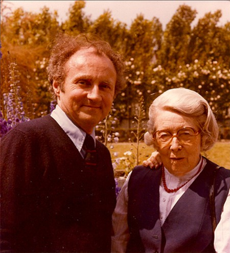 André Delvaux with essayist and novelist Suzanne Lilar in the 80s | © Marie Fredericq-Lilar/WikiCommons