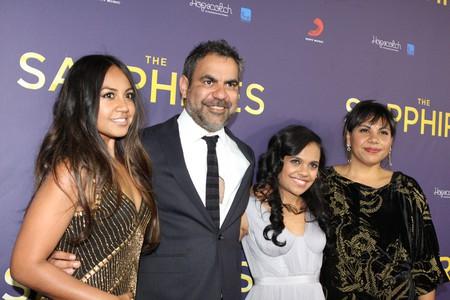 Jessica Mauboy, Miranda Tapsell, Wayne Blair, Deborah Mailman at the Sapphires movie premiere at State Theatre, Sydney | © Eva Rinaldi