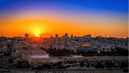 Jerusalem Sunset | © Boris G/Flickr