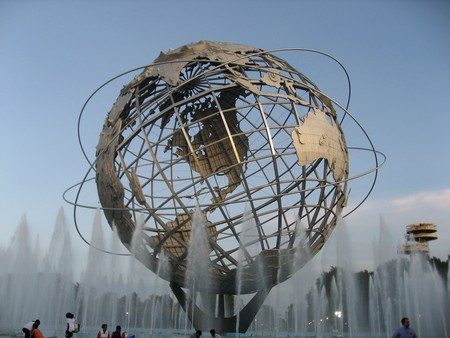 Queens World Fair Unisphere  © Ian Irving/flickr