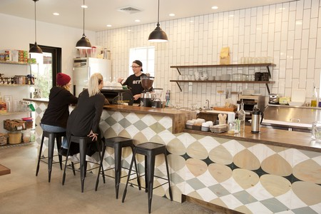 Enjoy a cup of coffee or two at Publik Coffee Roasters in Salt Lake City