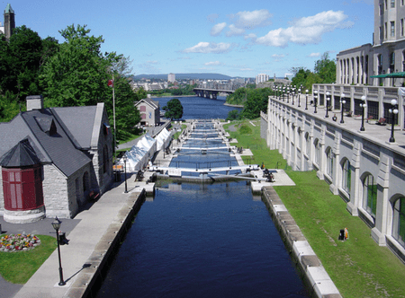 The Rideau Canal in Ottawa   © Bobak Ha'Eri/Wikicommons