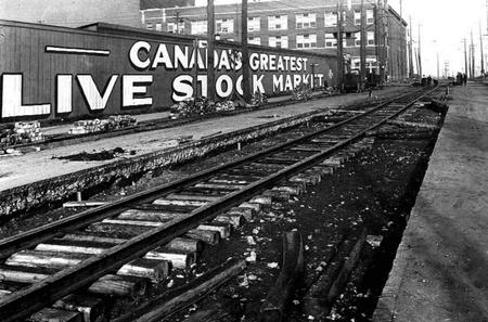 The Stockyards, 1923 | Public Domain/Wikicommons