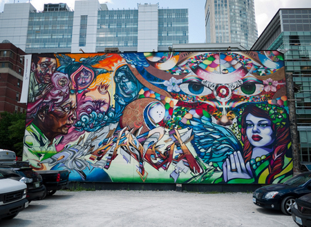 Graffiti, Toronto | © Bruce D'Arcus/Flickr