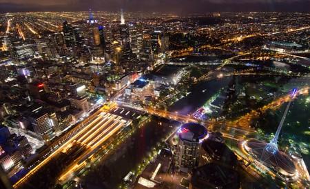 Melbourne CBD at night from Eureka Skydeck   © vincentq/Flickr