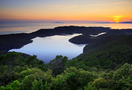 Sunset on Mljet | © Jaganjac/WikimediaCommons