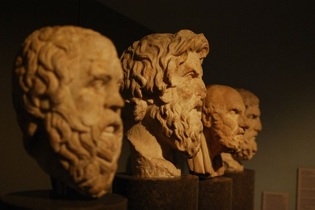 The busts of the philosophers at The British Museum, London | © Matt Neale/Flickr