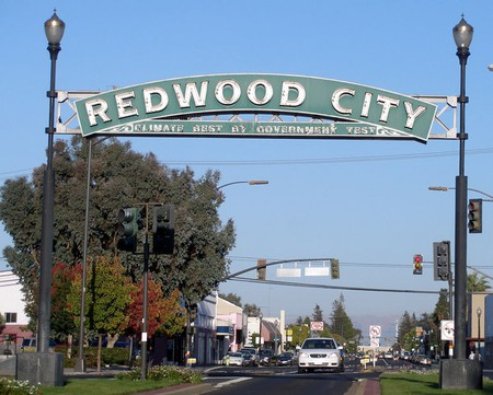 Downtown Redwood City © Wikipedia Commons