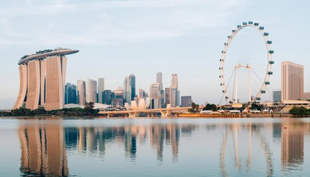 Singapore has plenty of striking vistas, like this one of the Central Business District