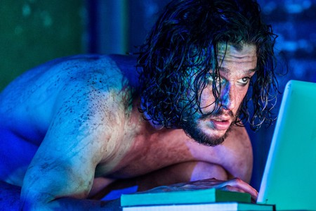 Kit Harington in Doctor Faustus. Running at the Duke of York's Theatre London|©Marc Brenner/Courtesy of The Jamie Lloyd Company