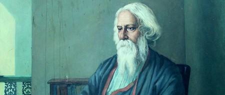 Portrait of Rabindranath Tagore © Cherishsantosh/WikiCommons