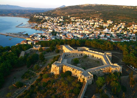 Costa Navarino's local town of Pylos | Courtesy of Costa Navarino