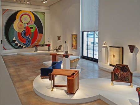 Rhythm by Sonia Delaunay (large painting on back wall) | © Jean-Pierre Dalbéra/Flickr