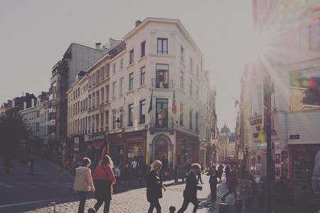 Brussels Street Scene | Matthias Ripp/Flickr