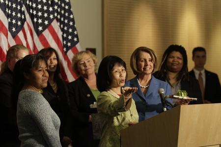 Celebration of the Nineteenth Amendment | © Nancy Pelosi/WikiCommons