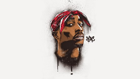 Graffiti Art of Tupac | © 2 Top/Flickr