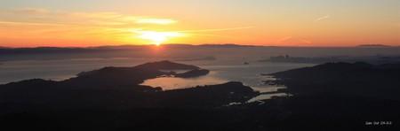 Sunrise from Mount Tamalpais © Mark Gunn/Flickr