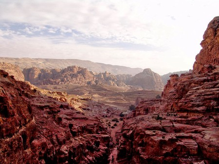 A general view of the city of Petra|© Leon Petrosyan/Wiki Commons