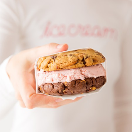Sprinkles ice cream sandwich | Courtesy of Sprinkles