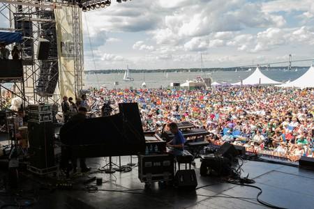 Chick Corea at the 2013 Newport Jazz Festival   © Douglas Mason