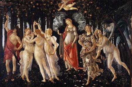 Sandro Botticelli, La Primavera, 1477-82 | © Uffizi Gallery/WikiCommons