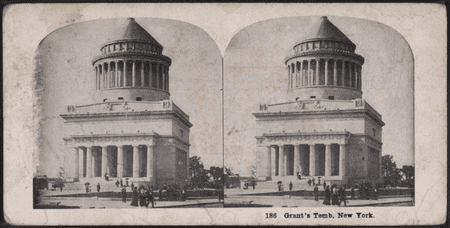 Grant's Tomb, New York, from Robert N. Dennis collection of stereoscopic views | © WikiCommons
