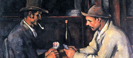 Paul Cézanne, The Card Players, 1892-93 | © Royal Family of Qatar/WikiCommons