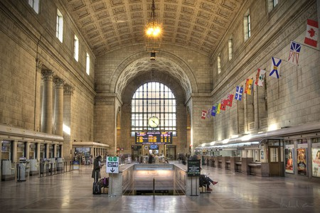 The Great Hall of Union Station in Toronto | © Michael Caven/WikiCommons