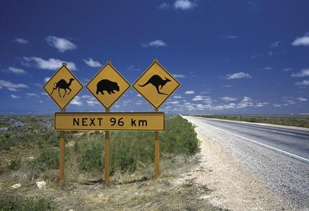 Road Sign, WA | Courtesy of Tourism Australia © Nick Rains