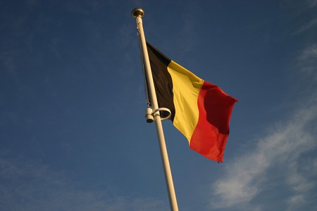 The modern Belgian flag waving in the wind | © Mike Hammerton/Flickr