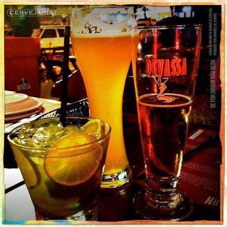 Drinks at Devassa