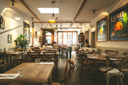 Savour good food and a welcoming atmosphere at The Orange Public House on Pimlico Road