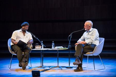 Ben Okri reads his poem 'A New Dream of Politics'| ©Adam Weatherley/Southbank Centre