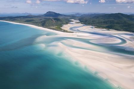 The scenic Whitsunday Islands