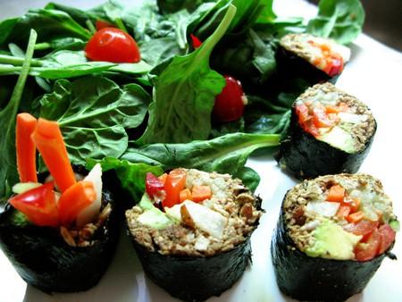 Vegan sushi | ©  Kari Sullivan/Flickr