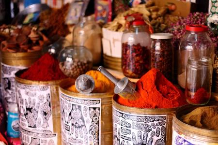 Ras El Hanout Spices Marrakech © Mark Rowland