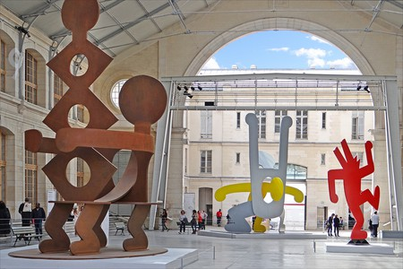 Keith Haring at the Centquatre © Jean-Pierre Dalbéra/Flickr
